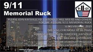 9/11 Memorial Ruck Flyer